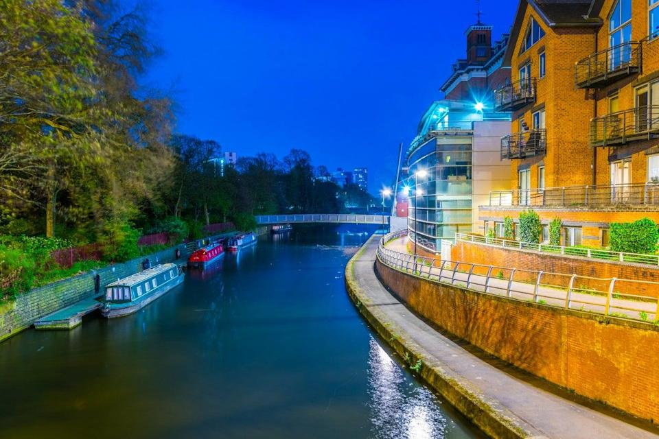 Riverside of the Soar in Leicester's centre (Getty Images/iStockphoto)