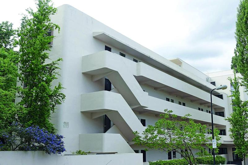 Modernist marvel: the Isokon building in Hampstead, designed by Wells Coates as an experiment in communal living, was completed in 1934