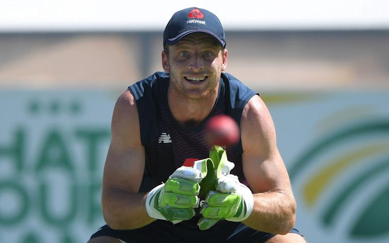 Jos Buttler is fighting to retain the gloves and his place in the Test side and needs a big score at Johannesburg to seal his place for Sri Lanka - Getty Images Europe