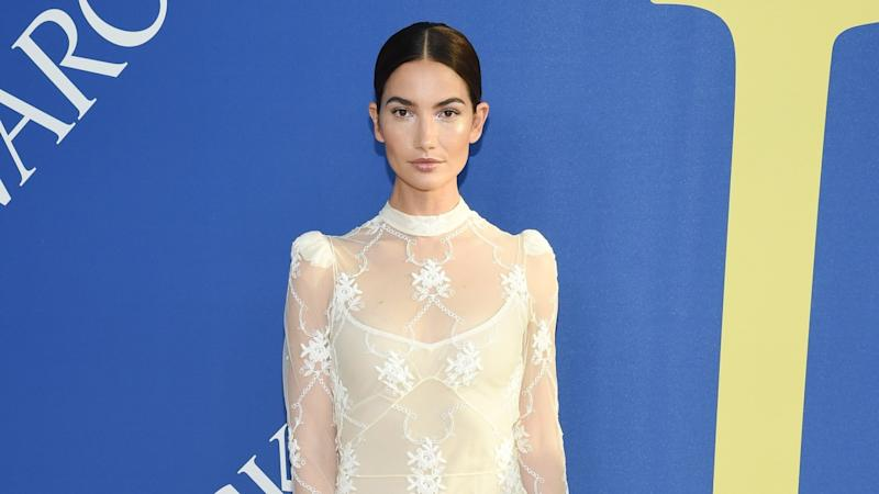Lily Aldridge Reveals She's Pregnant With Baby No. 2 With Stunning Bikini Photo