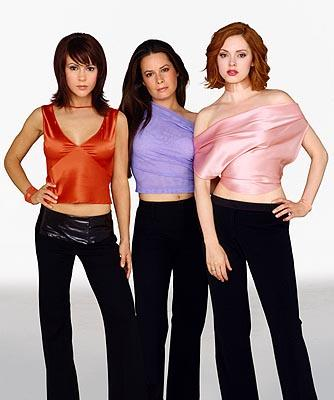 Alyssa Milano, Holly Marie Combs and Rose McGowan in Charmed