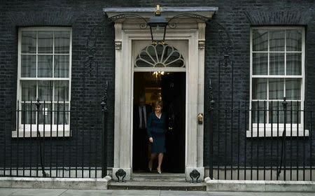 Nicola Sturgeon, First Minister of Scotland leaves Number 10 Downing Street in London, Britain October 24, 2016. REUTERS/Dylan Martinez