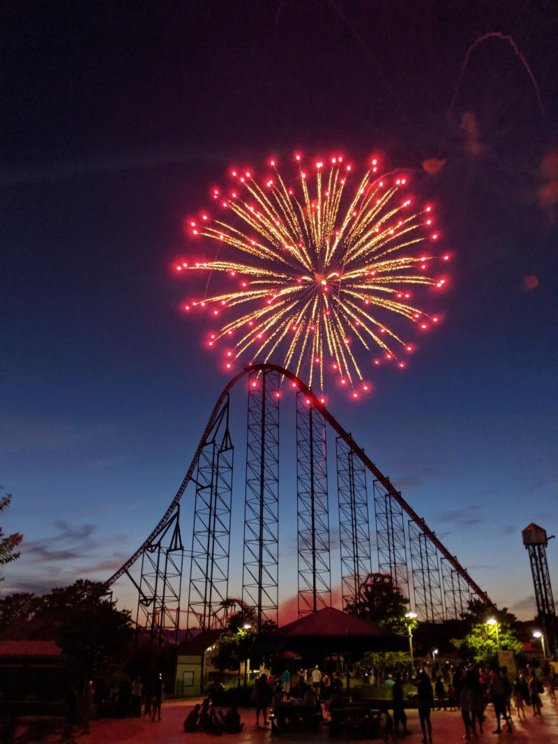 Enjoy Coca-Cola July 4th Fest at Six Flags Parks July 3–6