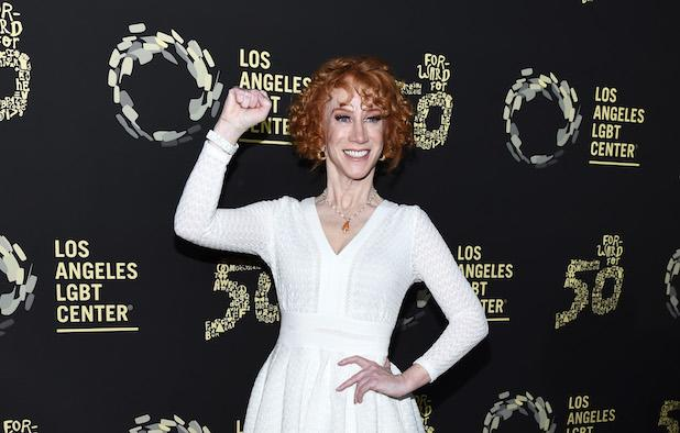 Kathy Griffin Wishes She Were 'First Amendment Hero' Colin Kaepernick