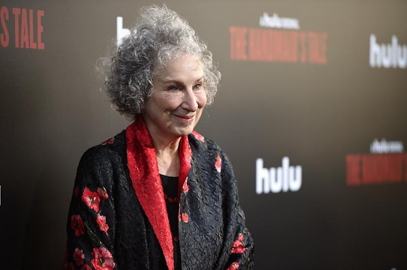 Margaret Atwood Hails The Handmaids Tale Protesters