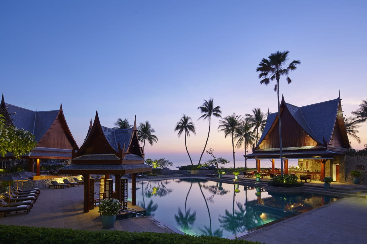 "<p>Translated to mean ""Haven of Life,"" this <a href=""http://www.chivasom.com/"">award-winning resort</a> on the Gulf of Thailand creates a holistic, personalized wellness program for each guest. Services include detoxification, homeopathy, fertility treatments and nutritional counseling. <i>(Photo: Courtesy of Chiva-Som)</i></p>"