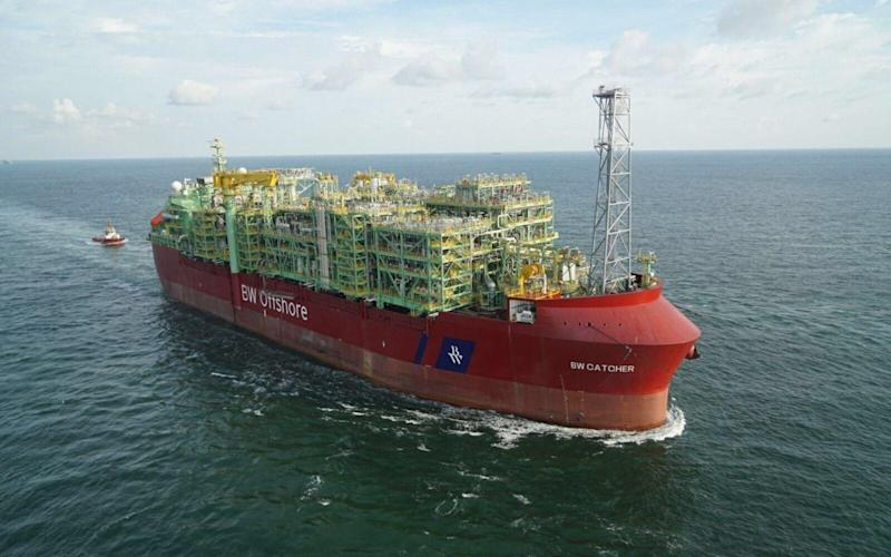The Tolmount developed could soon join the North Sea Catcher project (pictured) in driving Premier Oil's production higher - Premier Oil