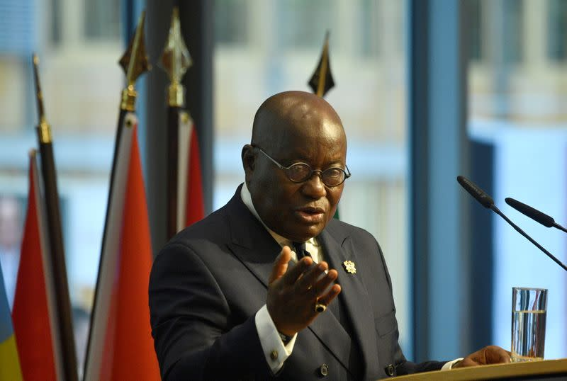 Ghana's president self-isolates after close person tests positive for coronavirus