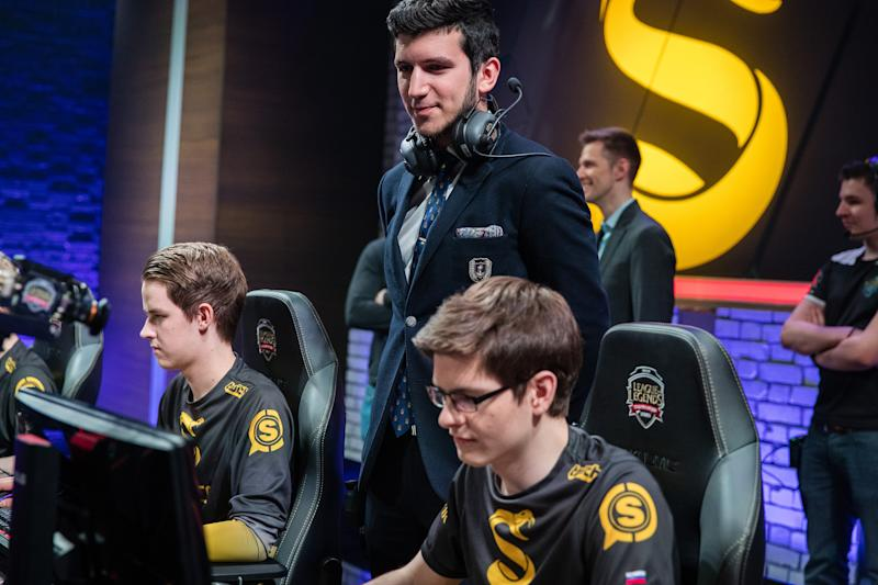 YamatoCannon is now the coach of Team Vitality (Lolesports/Riot Games)