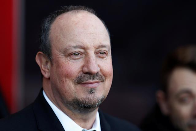 "Soccer Football - Premier League - AFC Bournemouth vs Newcastle United - Vitality Stadium, Bournemouth, Britain - February 24, 2018 Newcastle United manager Rafael Benitez before the match Action Images via Reuters/Matthew Childs EDITORIAL USE ONLY. No use with unauthorized audio, video, data, fixture lists, club/league logos or ""live"" services. Online in-match use limited to 75 images, no video emulation. No use in betting, games or single club/league/player publications. Please contact your account representative for further details."