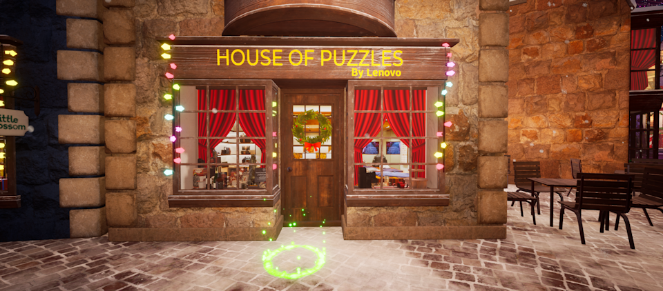 House of Puzzles. (PHOTO: Christmas Wonderland)