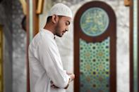 """Ramadan is about encouraging pious behavior and devoting oneself to concentrated worship. That means excesses, like having sex and smoking, are discouraged. In fact, Muslims believe both the repercussions of sins and the value of good acts are multiplied during the holy days. And if you want to do a little good, check out <a href=""""https://bestlifeonline.com/free-acts-of-kindness/?utm_source=yahoo-news&utm_medium=feed&utm_campaign=yahoo-feed"""" rel=""""nofollow noopener"""" target=""""_blank"""" data-ylk=""""slk:33 Little Acts of Kindness You Can Do That Are Totally Free"""" class=""""link rapid-noclick-resp"""">33 Little Acts of Kindness You Can Do That Are Totally Free</a>."""