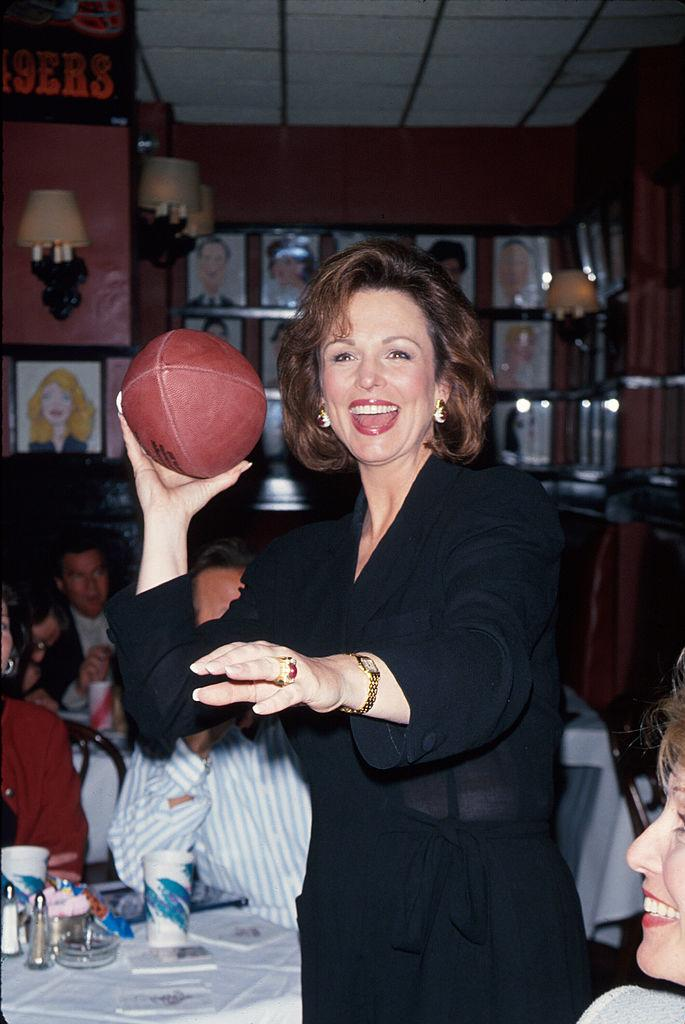 Phyllis George attends a Superbowl party in 1995. (Photo: Dave Allocca/DMI/The LIFE Picture Collection via Getty Images)