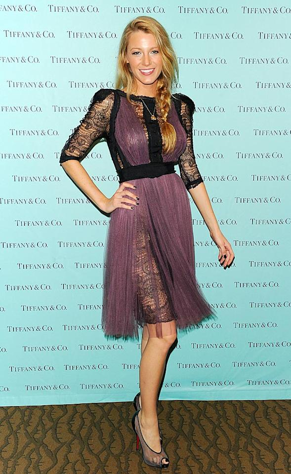 """Blake Lively is gorgeous, as are her Christian Louboutin kicks, but the """"Gossip Girl"""" star's conflicted, lace-and-tulle dress is nothing short of a hot mess. Andrew H. Walker/<a href=""""http://www.gettyimages.com/"""" target=""""new"""">GettyImages.com</a> - September 30, 2010"""