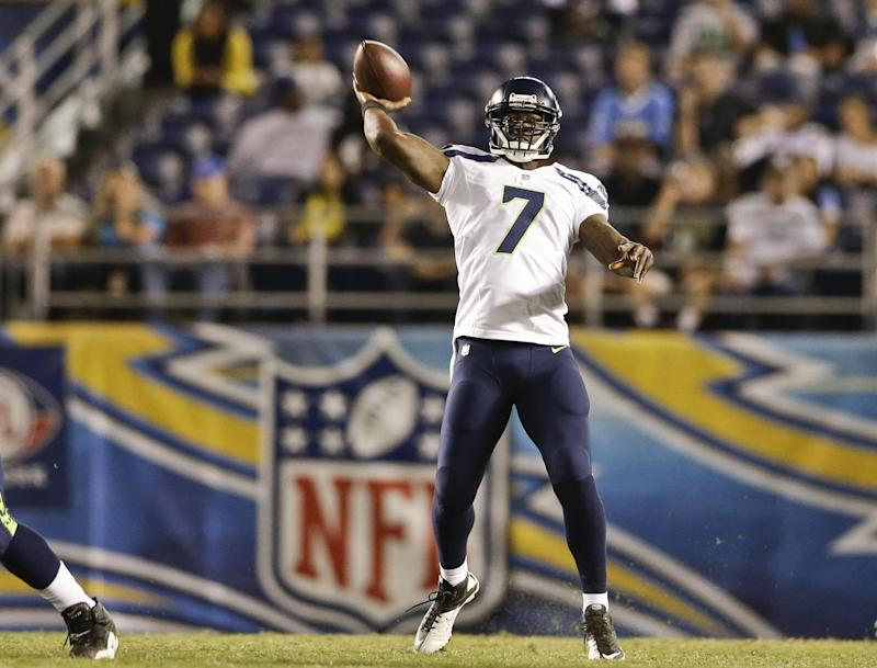 Seahawks' backup QBs impressive against Chargers