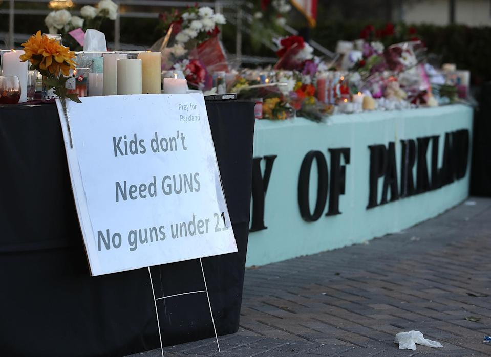A new hashtag called #MeNext is demanding gun control laws. (Photo: Getty Images)