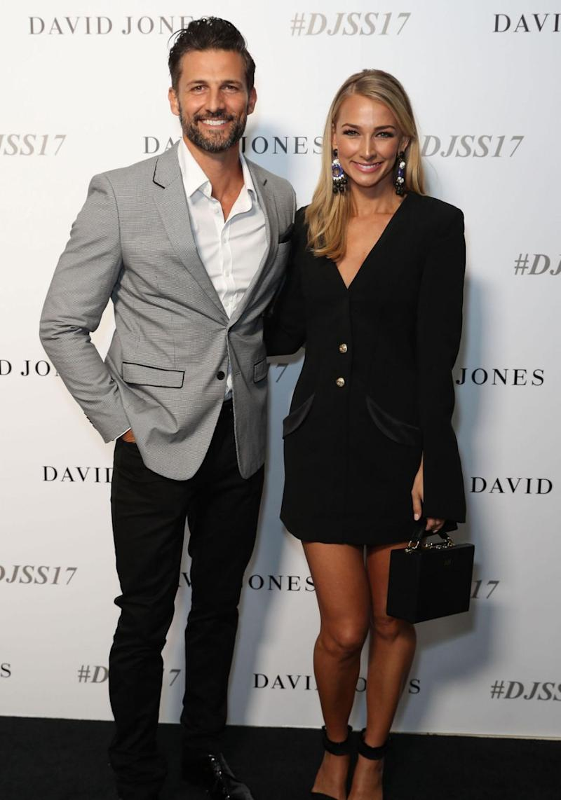 After recently announcing their engagement earlier this year, Australia's first ever Bachelor couple, Tim Robards and Anna Heinrich, have proved that reality television love can last. Source: Getty