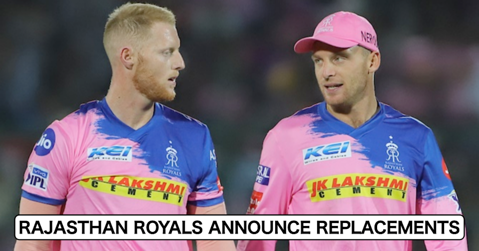 IPL 2021: Rajasthan Royals Announce Jos Buttler & Ben Stokes' Replacements For UAE Leg