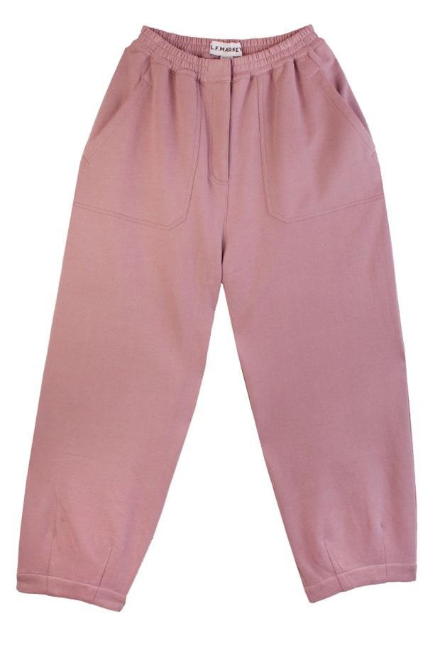 """<p>L.F. Markey Jameson Trouser Lilac, $130, <a href=""""https://usa.lfmarkey.com/products/jameson-trouser-lilac"""" rel=""""nofollow noopener"""" target=""""_blank"""" data-ylk=""""slk:available here"""" class=""""link rapid-noclick-resp"""">available here</a>. </p>"""