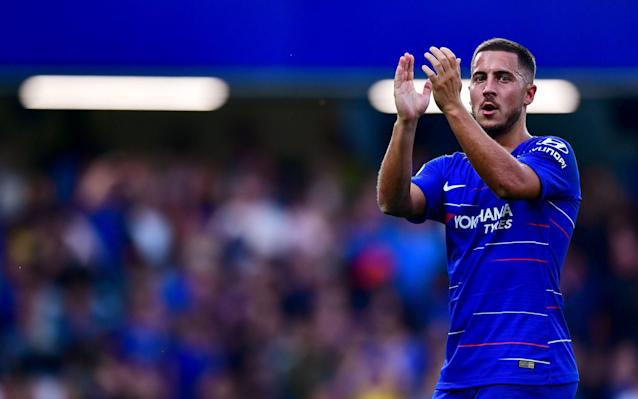 'I'm good where I am now': Eden Hazard confirms he will stay at Chelsea this season but offers no guarantees over new contract