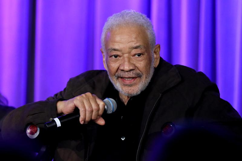 LOS ANGELES, CALIFORNIA - FEBRUARY 24: Bill Withers speaks onstage at Reel To Reel: Chuck Berry: Brown Eyed Handsome Man at the GRAMMY Museum on February 24, 2020 in Los Angeles, California. (Photo by Rebecca Sapp/Getty Images for The Recording Academy )
