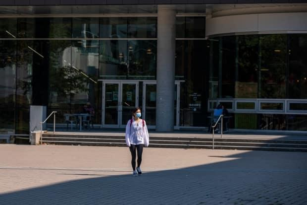 Elections Canada says students' return to university campuses for the Fall 2021 semester was uncertain until recently. (Ben Nelms/CBC - image credit)