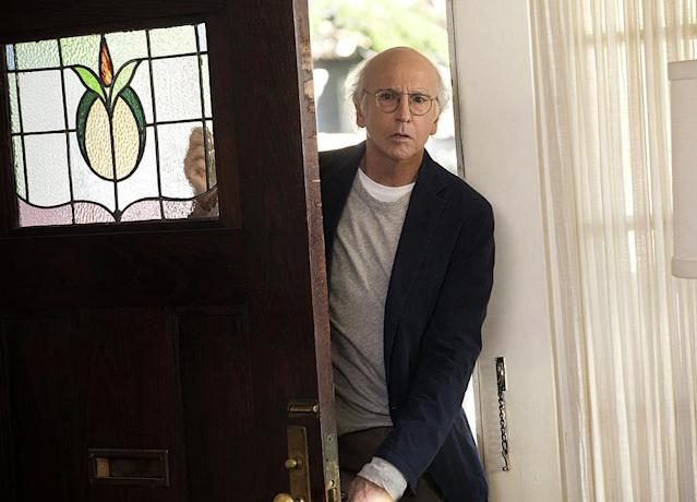 "<p><strong>This Season's Theme: </strong>""Season 9 goes to a very unexpected place very quickly, and pays off in an insane way by the finale,"" says executive producer Jeff Schaffer of <em>Curb</em>'s return after a six-year absence. ""We're really happy with the season, and we're not usually ones to be happy."" <br><br><strong>Where We Left Off: </strong>The end of Season 8 found Larry (Larry David) being ordered out of New York City by none other than then-mayor Michael Bloomberg for daring to tangle with beloved New Yorker Michael J. Fox. So Larry and Leon (JB Smoove) decamp for Paris, which the French thankfully didn't view as a declaration of war.<br><br><strong>Coming Up: </strong>During his exile from the Big Apple, Larry kept himself busy working on a passion project that he's finally ready to share with the world. Unfortunately, the world greets it with a big ""meh."" ""He's sort of surprised that others don't feel the same way about it,"" Schaeffer says. ""Larry's not the kind of guy who takes criticism well, and this is a whole new level for him."" Larry's also not the kind of guy who deals with <em>life</em> well, and he's once again both the victim and instigator of all kinds of societal slights. The off-camera Larry, says Schaeffer, has ""always got his notebook, and that notebook is getting filled. He's been hoarding awkward comedy moments like Scrooge McDuck, and now we get to show them to everybody.""<br><br><strong>Pretty, pretty, pretty long:</strong> <em>Curb</em> will take a cue from <em>Game of Thrones</em> this season and present some super-sized episodes. ""The shows are bigger and longer this year,"" Schaeffer says. ""We'll go way past the half-hour mark by the end of the season."" <em>— Ethan Alter</em><br><br>(Photo: HBO) </p>"