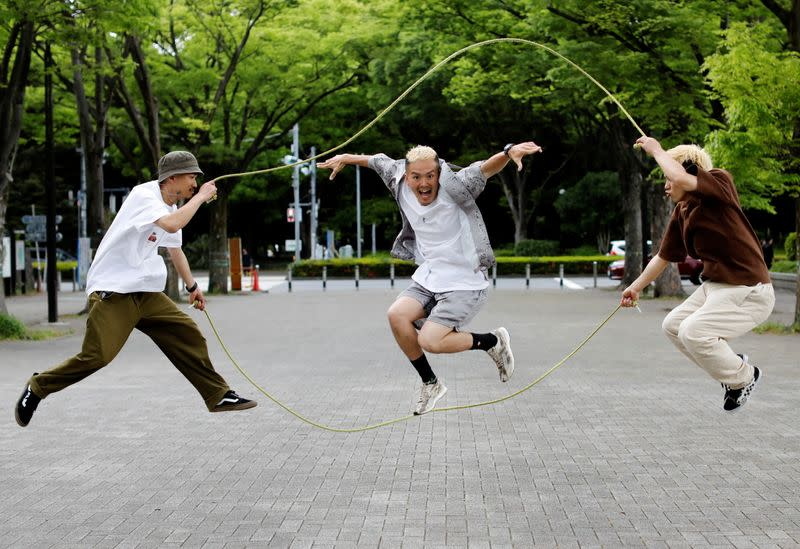 The Wider Image: From the streets of Tokyo, 22 residents weigh up the Olympic Games