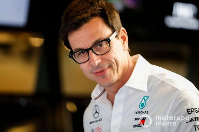 """Toto Wolff, Team Principal, Mercedes AMG <span class=""""copyright"""">Steven Tee / Motorsport Images</span>"""