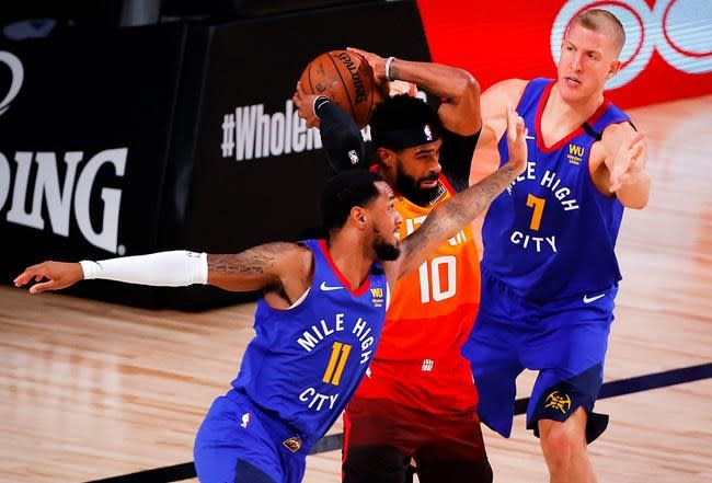 Utah's Mike Conley returns to NBA bubble after birth of son
