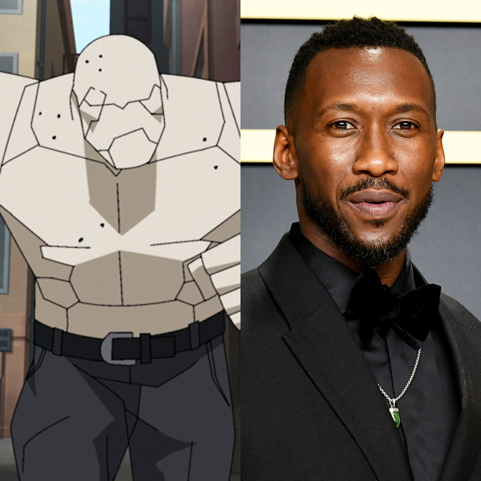 "<p>If you thought the voice of <em>Invincible</em>'s recurring and thoughtfully fleshed-out villain, Titan sounded familiar, then… job well done. Because Titan is voiced by Mahershala Ali, who's won the Academy Award for Best Supporting Actor twice in the last five years. Ali is still probably best known for his role in <em>Moonlight</em> and the early seasons of <em>House of Cards</em>, but he clearly has some sort of affinity for comic/nerd culture; in recent years, he's also been in <em>Al</em><em>ita: Battle Angel </em>(an action epic based on Manga from the '90s) and <em>Spider-Man: Into The Spider-Verse</em>. At some point in the next couple years, he'll play the titular vampire hunter in the <a href=""https://www.menshealth.com/entertainment/a35795140/upcoming-marvel-movies-tv-shows-release-schedule/"" rel=""nofollow noopener"" target=""_blank"" data-ylk=""slk:Marvel Cinematic Universe"" class=""link rapid-noclick-resp"">Marvel Cinematic Universe</a>'s take on <em>Blade</em>.</p>"