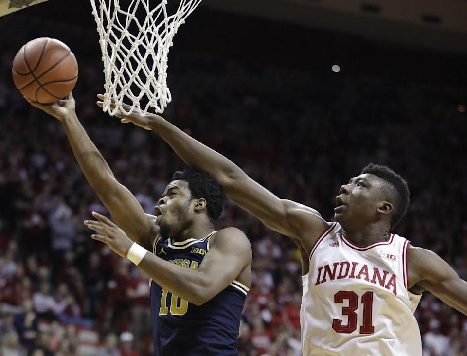 Four of Indiana's five remaining games are on the road, where they're only 1-5 this season. (AP)
