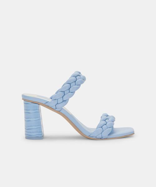 """<p><strong>dolce vita</strong></p><p>dolcevita.com</p><p><strong>$120.00</strong></p><p><a href=""""https://go.redirectingat.com?id=74968X1596630&url=https%3A%2F%2Fwww.dolcevita.com%2Fcollections%2Fshoes-sandals%2Fproducts%2Fpaily-heels-sky-blue-stella%3Fvariant%3D39294472454210&sref=https%3A%2F%2Fwww.townandcountrymag.com%2Fstyle%2Ffashion-trends%2Fg36421997%2Fcolorful-summer-outfit-ideas%2F"""" rel=""""nofollow noopener"""" target=""""_blank"""" data-ylk=""""slk:Shop Now"""" class=""""link rapid-noclick-resp"""">Shop Now</a></p><p>We found it—the perfect summer 2021 summer heel. Choose sky blue, bubblegum pink, pistachio, or buttercup yellow (or all of the above). </p>"""
