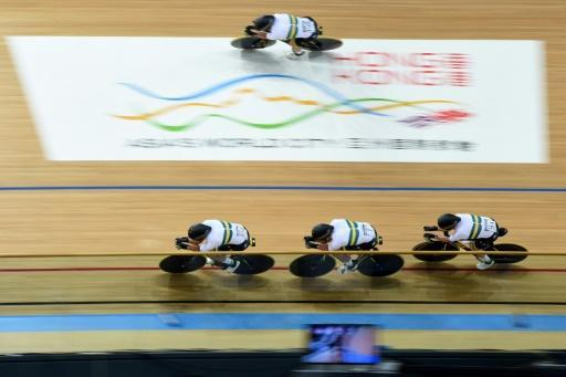 Australia storm to world cycling team pursuit gold