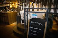 In fact, the French restaurant Club Gascon in central London is closed