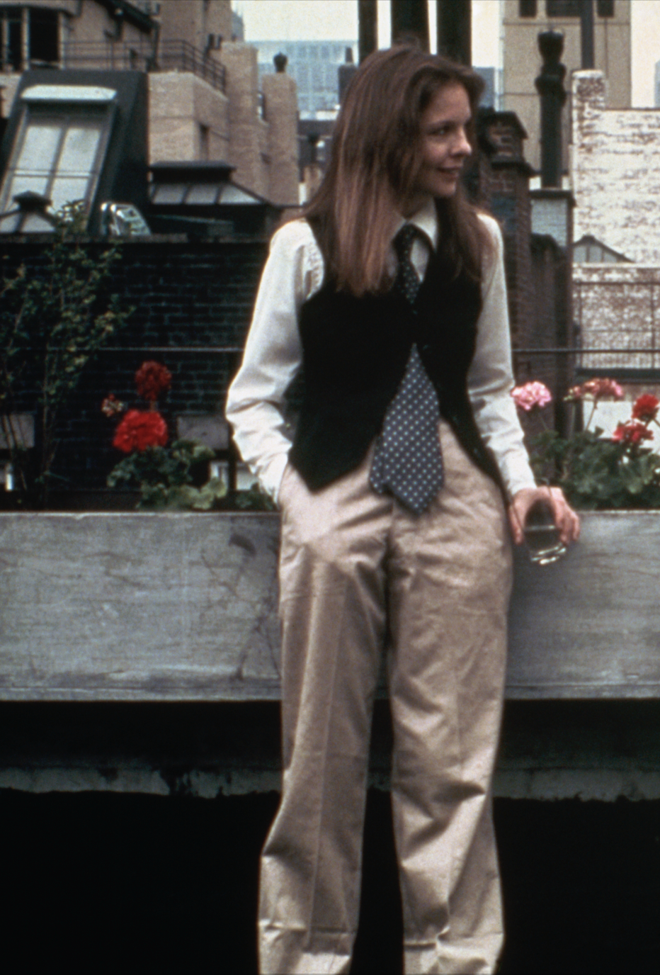Harry Styles owes it all to Diane Keaton. (Credit: Getty Images)