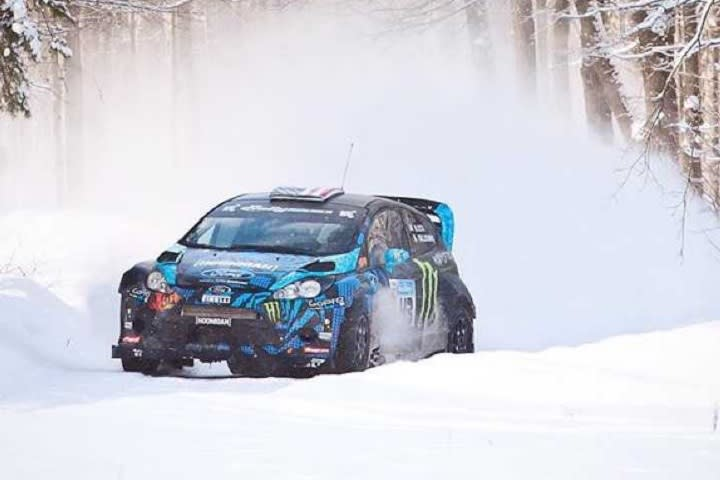Ken Block S Ford Fiesta Rally Car And Make Your Own Gymkhana