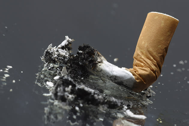 Cigarette butt (Thinkstock)