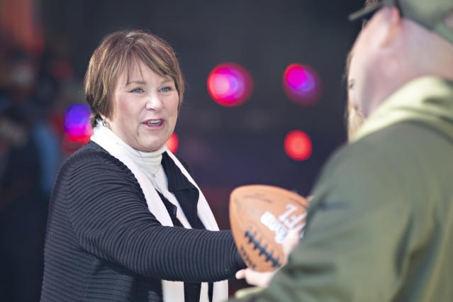 Tennessee Titans controlling owner Amy Adams Strunk said on Friday she doesn't want a new stadium. (Getty Images)