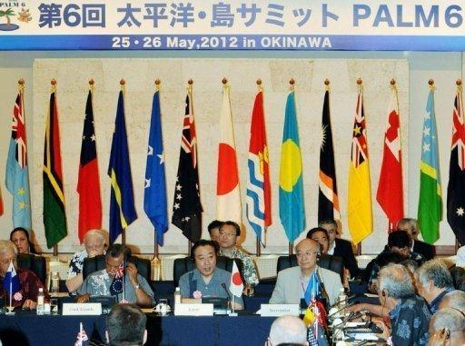 "Noda told the Pacific Islands meeting that Japan ""would not be inward-looking"""
