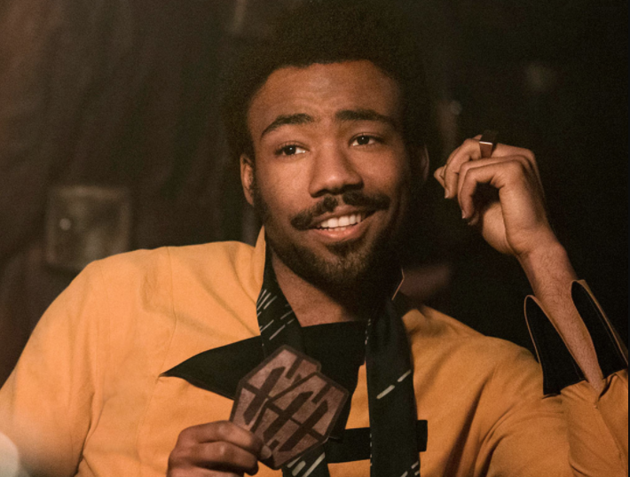 Glover in Solo: A Star Wars Story (Credit: Disney/Lucasfilm)