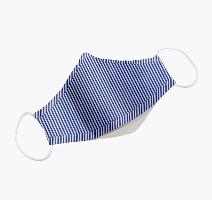 """<h2>Madewell Three-Pack Face Masks</h2><br>For a face mask that's both cute and functional, opt for Madewell's 3 packs. The subtle prints vary, but all of them feature a triple-layered construction. <br><br><strong><em><a href=""""https://www.madewell.com/womens/accessories/bandanas-scarves"""" rel=""""nofollow noopener"""" target=""""_blank"""" data-ylk=""""slk:Shop Madewell"""" class=""""link rapid-noclick-resp"""">Shop Madewell</a></em></strong> <br><br><strong>Madewell</strong> Three-Pack Face Masks, $, available at <a href=""""https://go.skimresources.com/?id=30283X879131&url=https%3A%2F%2Fwww.madewell.com%2Fthree-pack-face-masks-MC273.html"""" rel=""""nofollow noopener"""" target=""""_blank"""" data-ylk=""""slk:Madewell"""" class=""""link rapid-noclick-resp"""">Madewell</a>"""