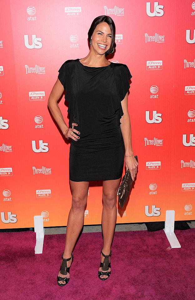 "Brooke Burns also opted for an LBD and funky footwear. Todd Williamson/<a href=""http://www.wireimage.com"" target=""new"">WireImage.com</a> - April 22, 2009"