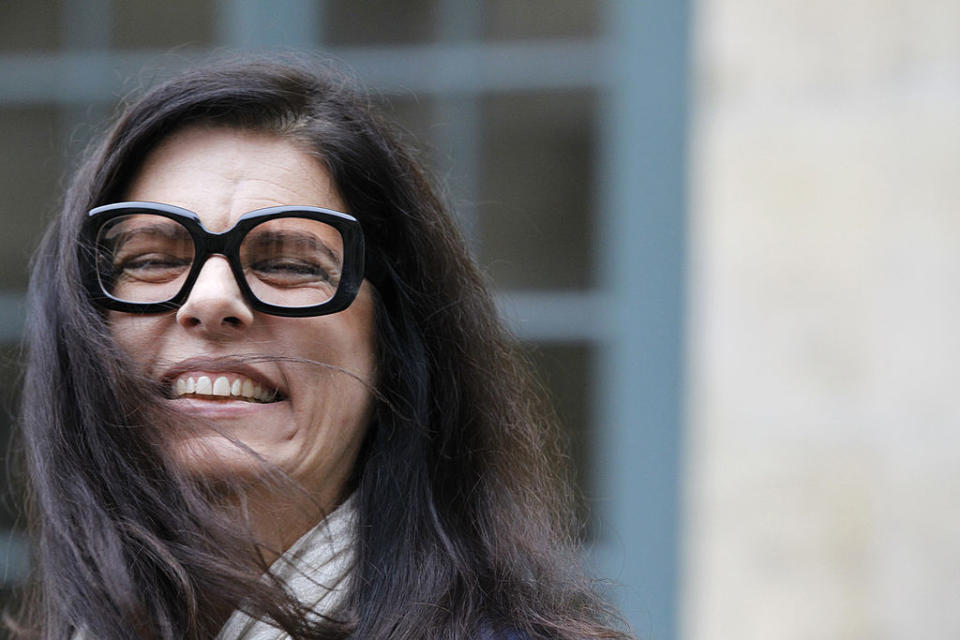daughter of French Billionaire L'Oreal heiress Liliane Bettencourt,  is pictured as she leaves the Institut de France in Paris after attending the official entry ceremony of French journalist and former head of French public television group France Televisions, Patrick de Carolis at  the Academie des Beaux-Arts (French Academy of Fine Arts), part of the Institut de France (French prestigious Arts and Sciences Academy), on October 12, 2011. De Carolis succeeded to late Andre Bettencourt, former minister and patron, husband of Liliane Bettencourt. AFP PHOTO FRANCOIS GUILLOT (Photo credit should read FRANCOIS GUILLOT/AFP via Getty Images). Image: Getty