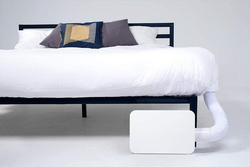 <p>Upgrade your sleep experience with the <span>BedJet 3 Climate Comfort</span> ($449, originally $569). Depending on your sleep preferences and the seasons, you can either keep your bed cool to the touch or cozy and warm. </p>