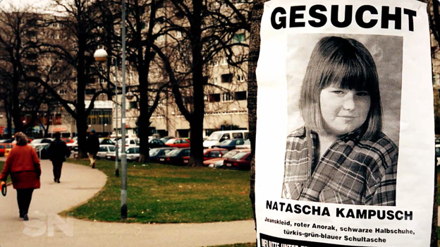 Natascha as a ten-year-old when she was captured