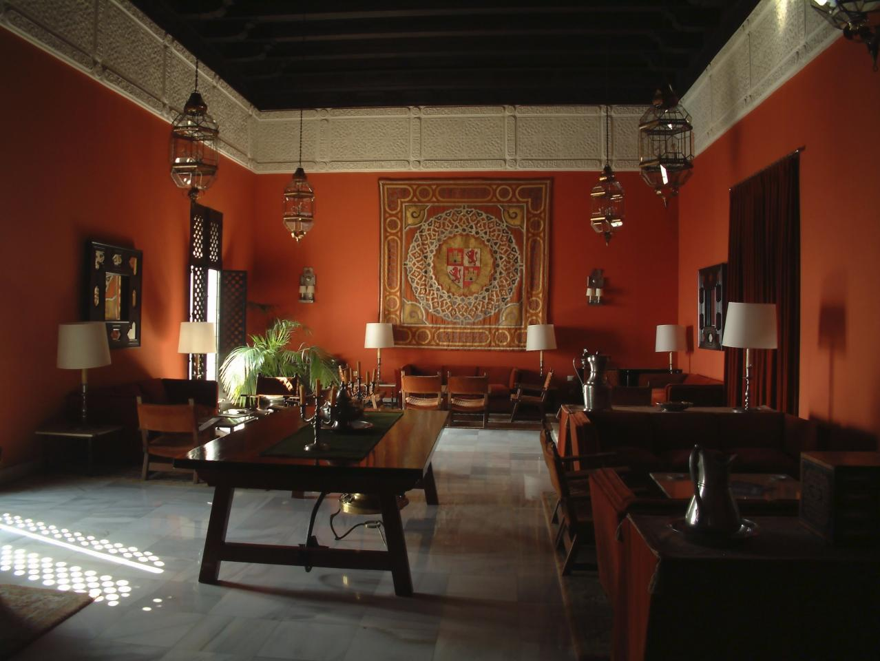 """<div class=""""caption-credit""""> Photo by: iStockphoto</div><div class=""""caption-title""""></div>Old World elements are influencing home decor again, with Spanish style becoming the new front-runner.  With its hybrid of Mediterranean flare and Moroccan nuances , it's also a look that combines the strength of iron and clay with the softness of light gauze and cotton fabrics .  We asked interior decorator Maria Fernanda Molinari for tips on turning any room into a Spanish dream. <br>"""
