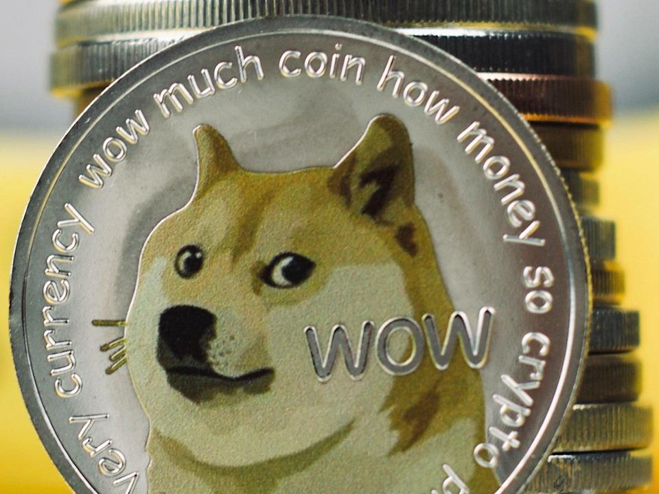 Elon Musk has frequently tweeted about dogecoin in 2021, resulting in brief price spikes (Getty Images)