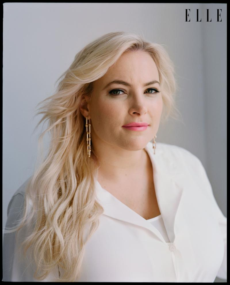 Meghan McCain opened up about her conservative views in a new interview with Elle. (Photo: Celeste Sloman/Elle)