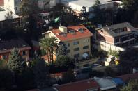 FILE PHOTO: The Saudi Arabia's consulate is pictured from a skyscraper in Istanbul's Levent district